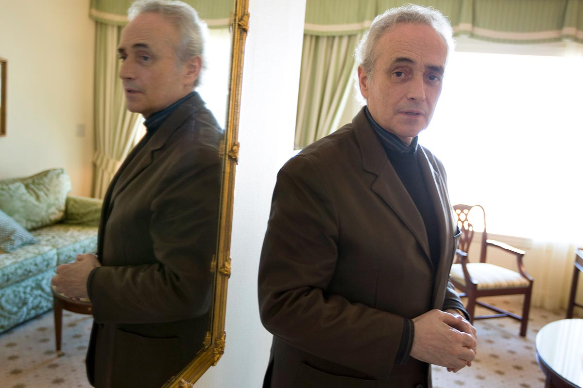 Jose Carreras, Opera - portrait photography photographer Scotland