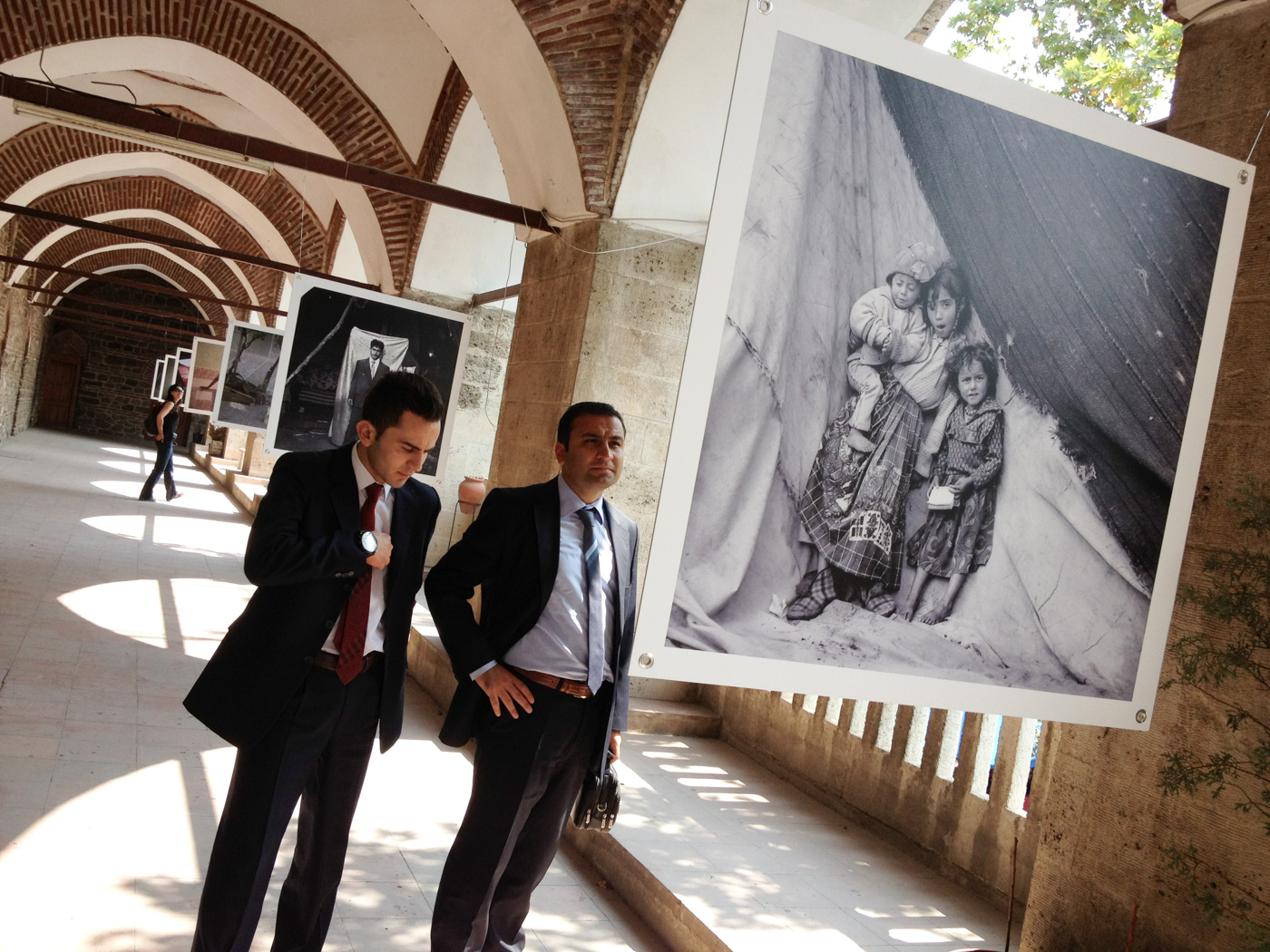 Exhibition of Roma gypsy portraits, Bursa Photography Festival