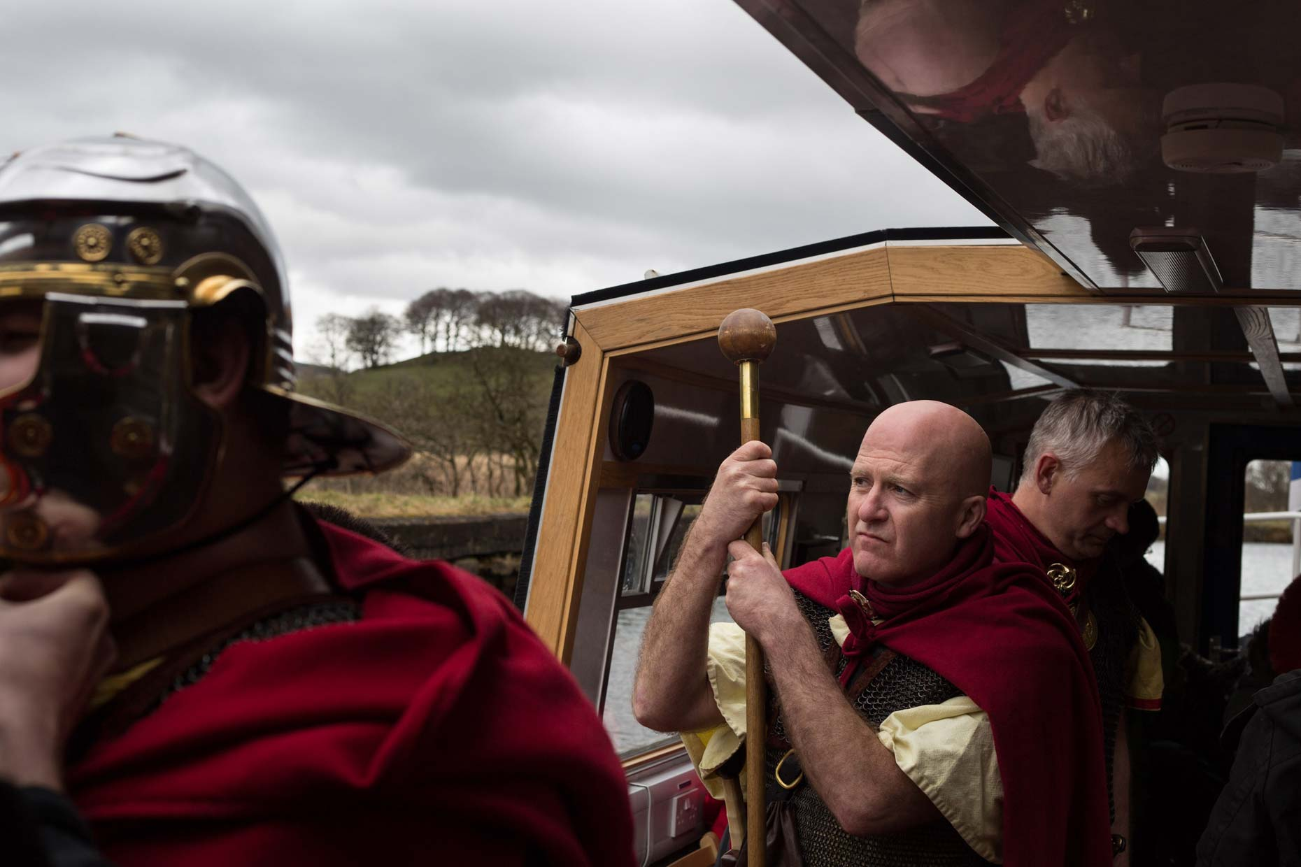 Roman soldiers in Scotland