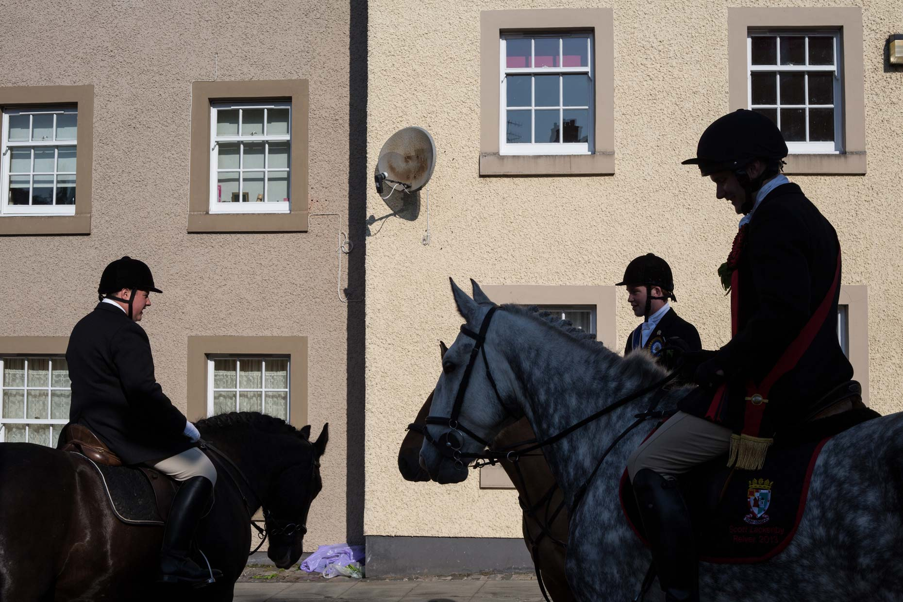 Common Riding in Hawick, Scotland photographer