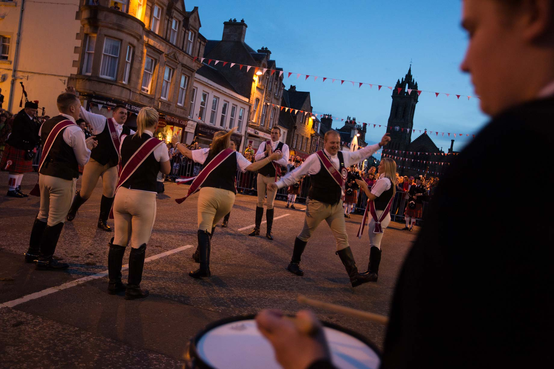 Peebles Beltane Festival - photography of the Common Ridings, Scotland