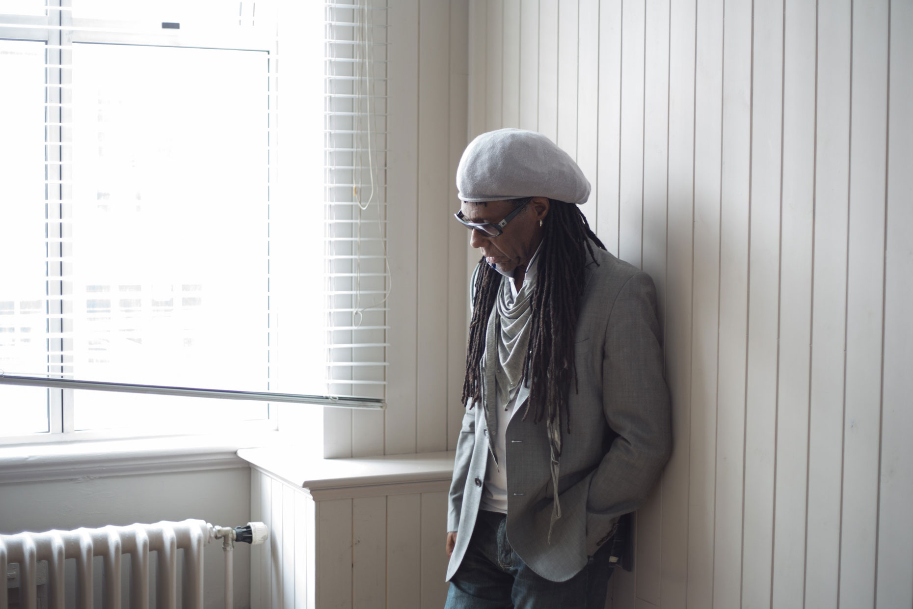 Nile Rodgers, Edinburgh -  portrait photography Scotland