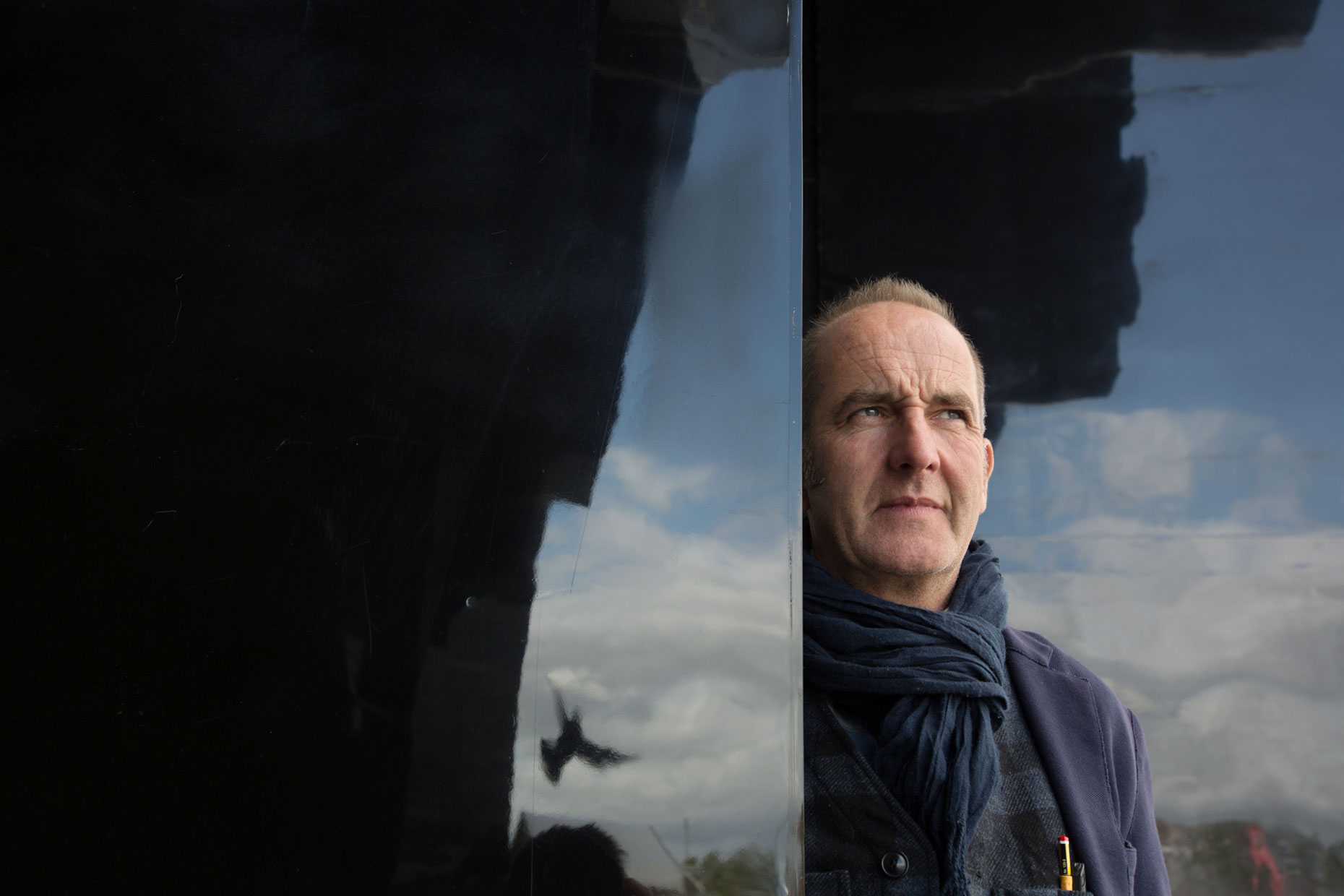 Kevin McCloud, designer and television presenter - portrait photography photographer Scotland