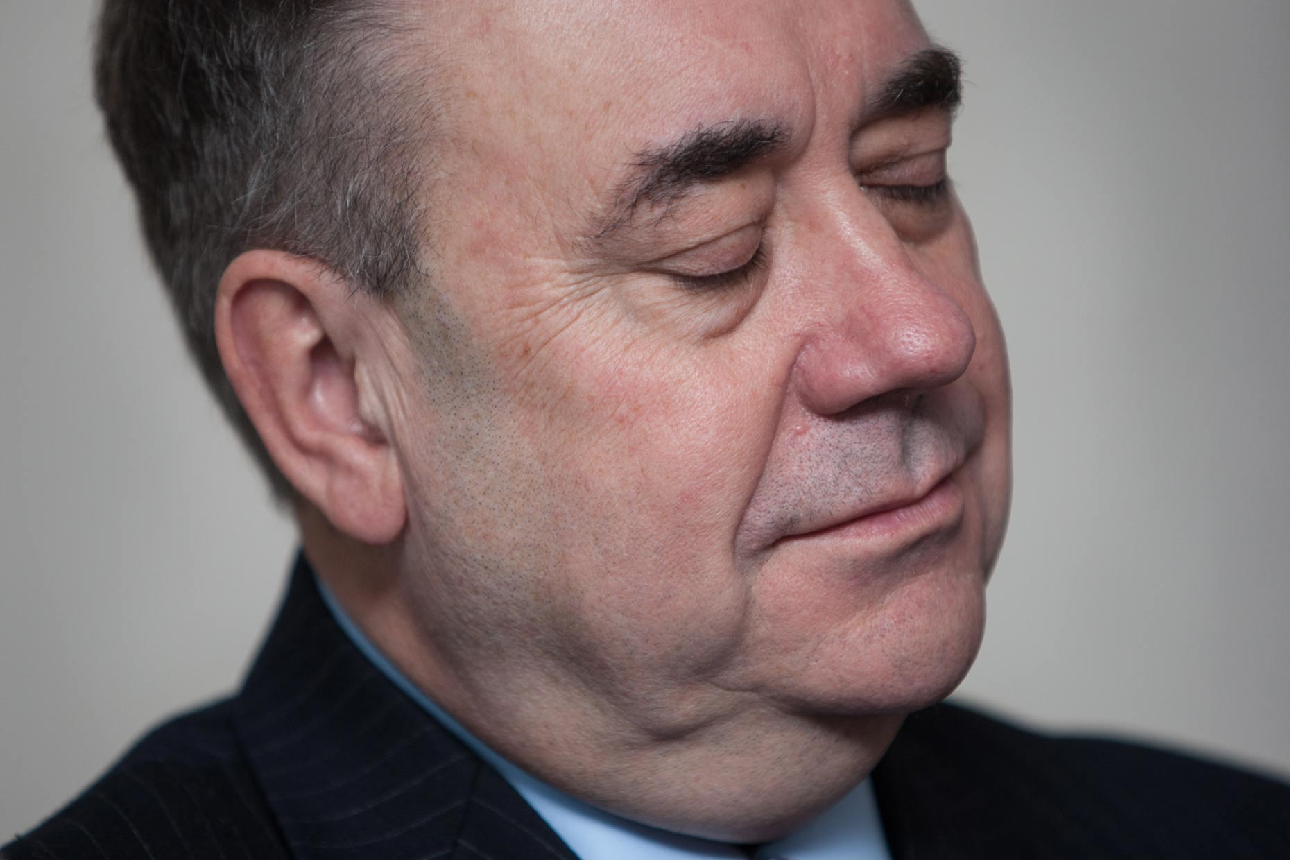 Alex Salmond -  portrait photography Scotland