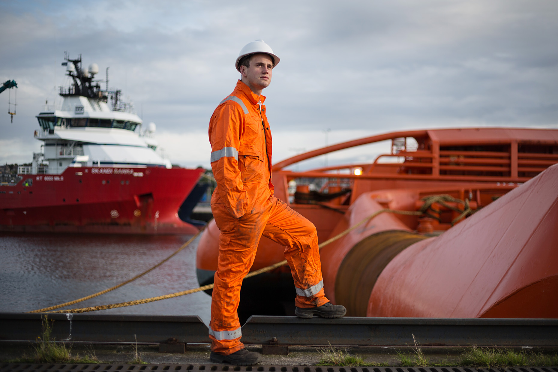 Iain Downie, Aberdeen oil industry -  portrait photography Scotland