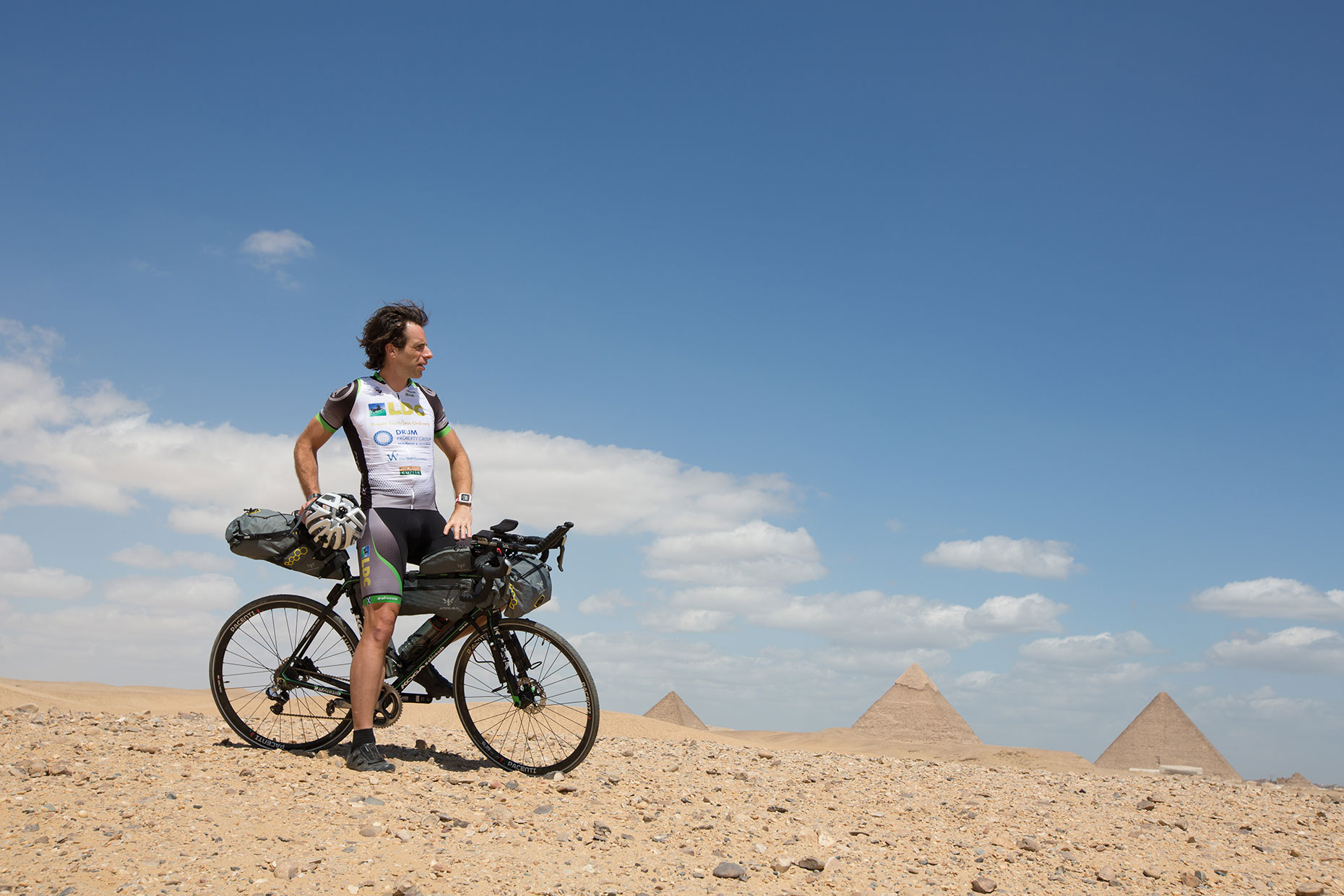 Portrait of adventurer Mark Beaumont, by Scotland photographer J. Sutton-Hibbert