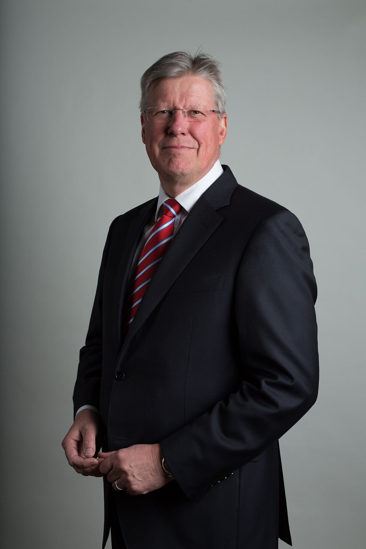 Portrait of Martin Slumbers, Chief Executive, by Scotland-based photographer Jeremy Sutton-Hibbert.