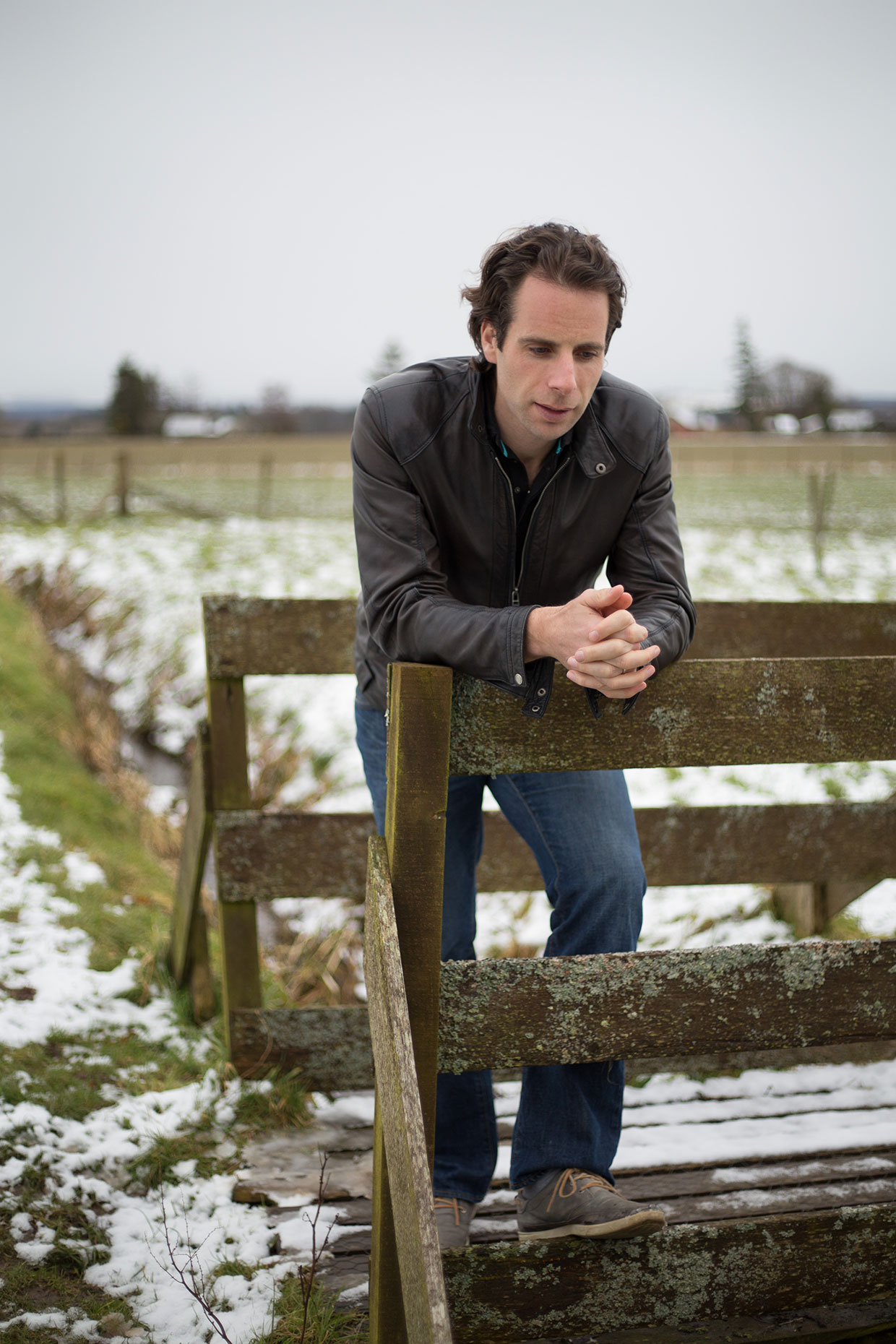 Mark Beaumont, adventurer -  portrait photographer Scotland
