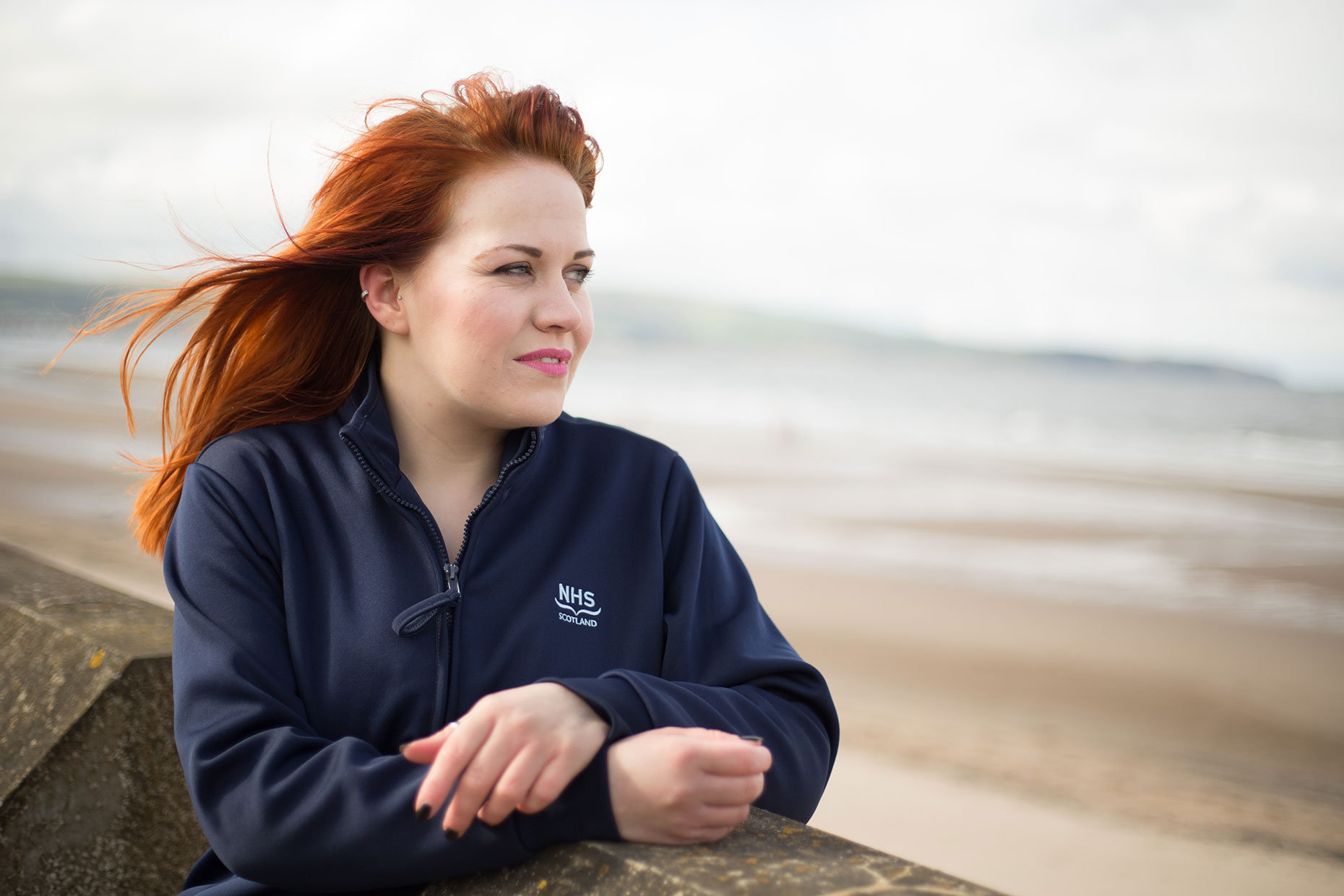 Nurse Gibson, Ayr -  portrait photographer Scotland