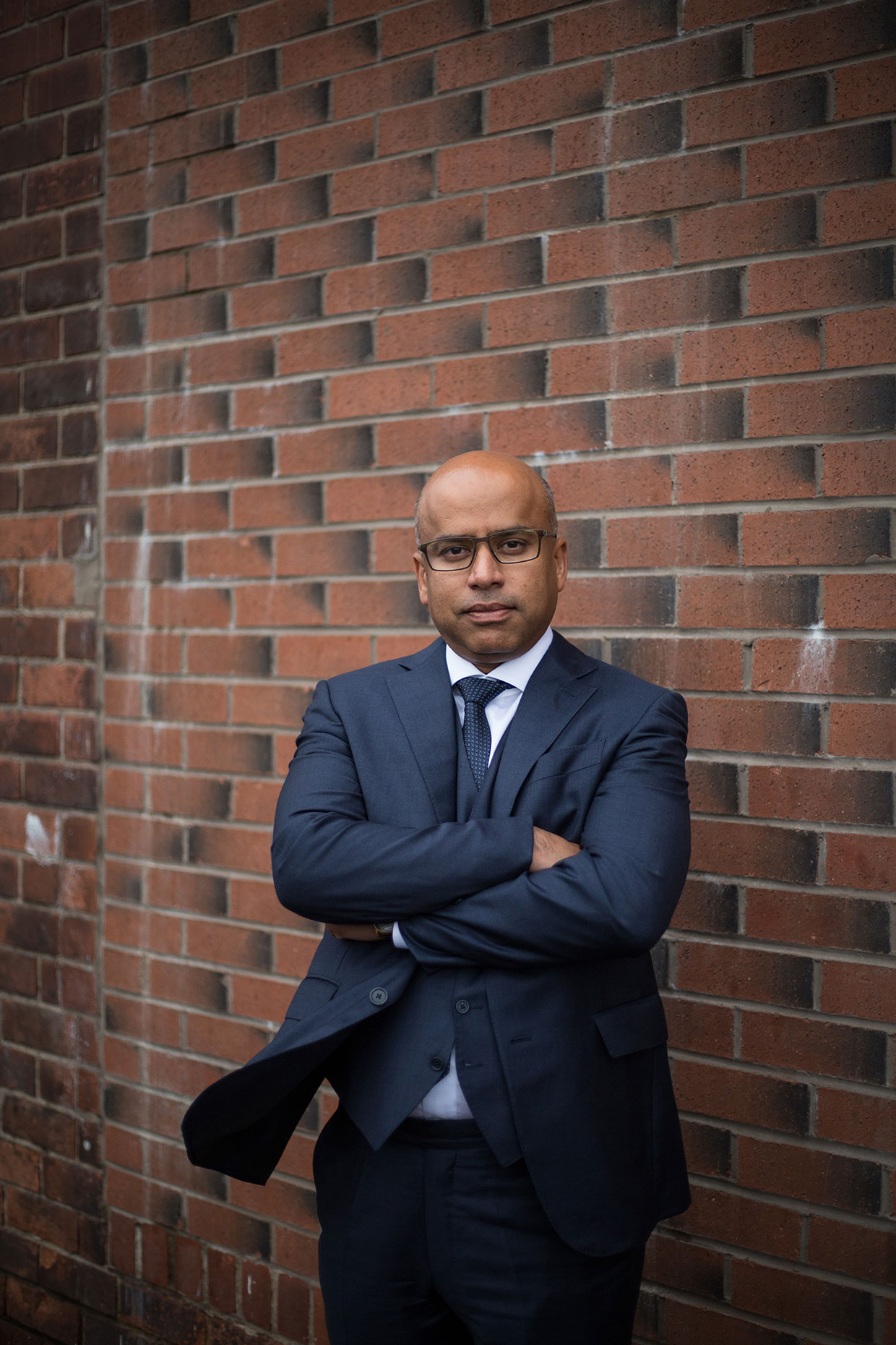 Sanjeev Gupta portrait by Scottish photographer Jeremy Sutton-Hibbert.