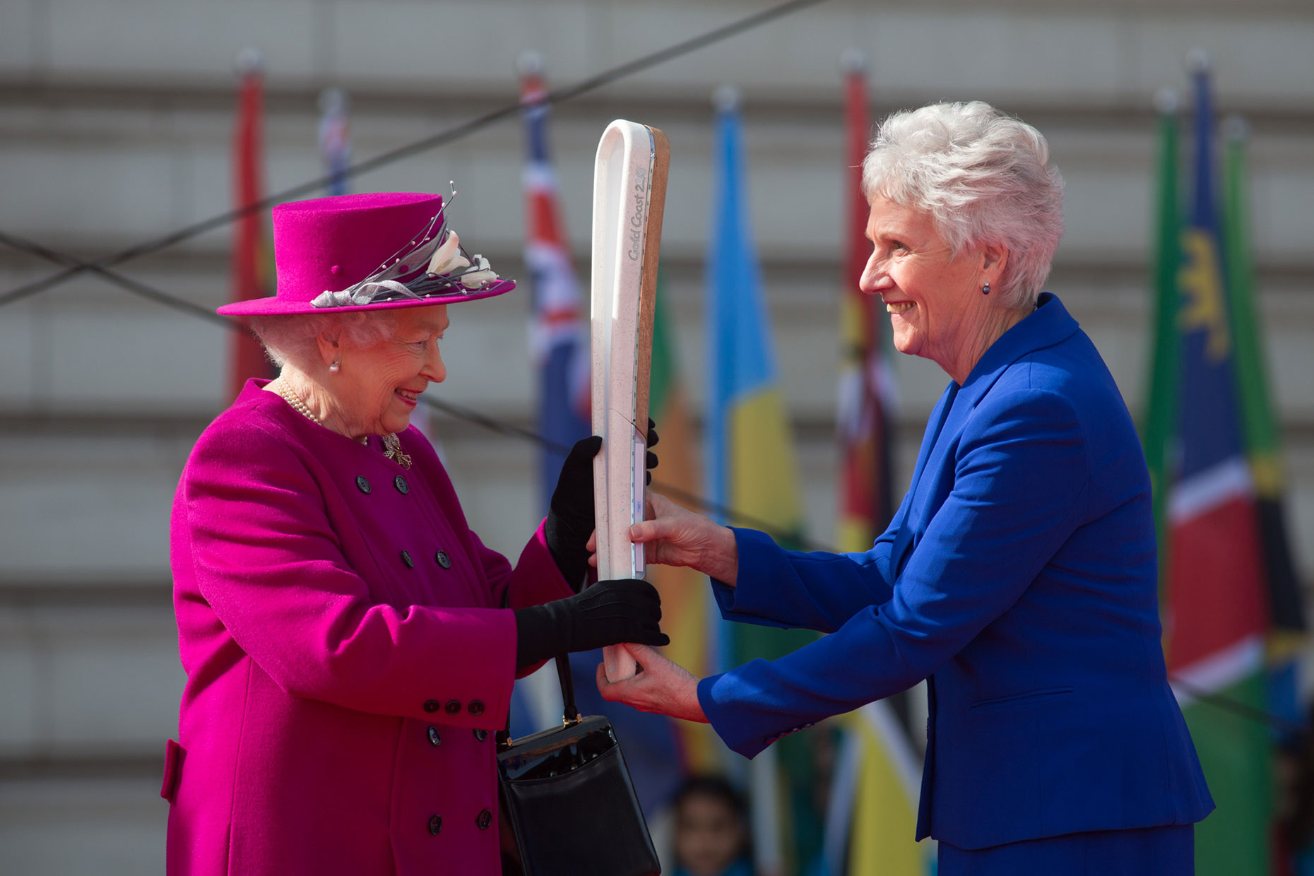 Queen Elizabeth II with Queen