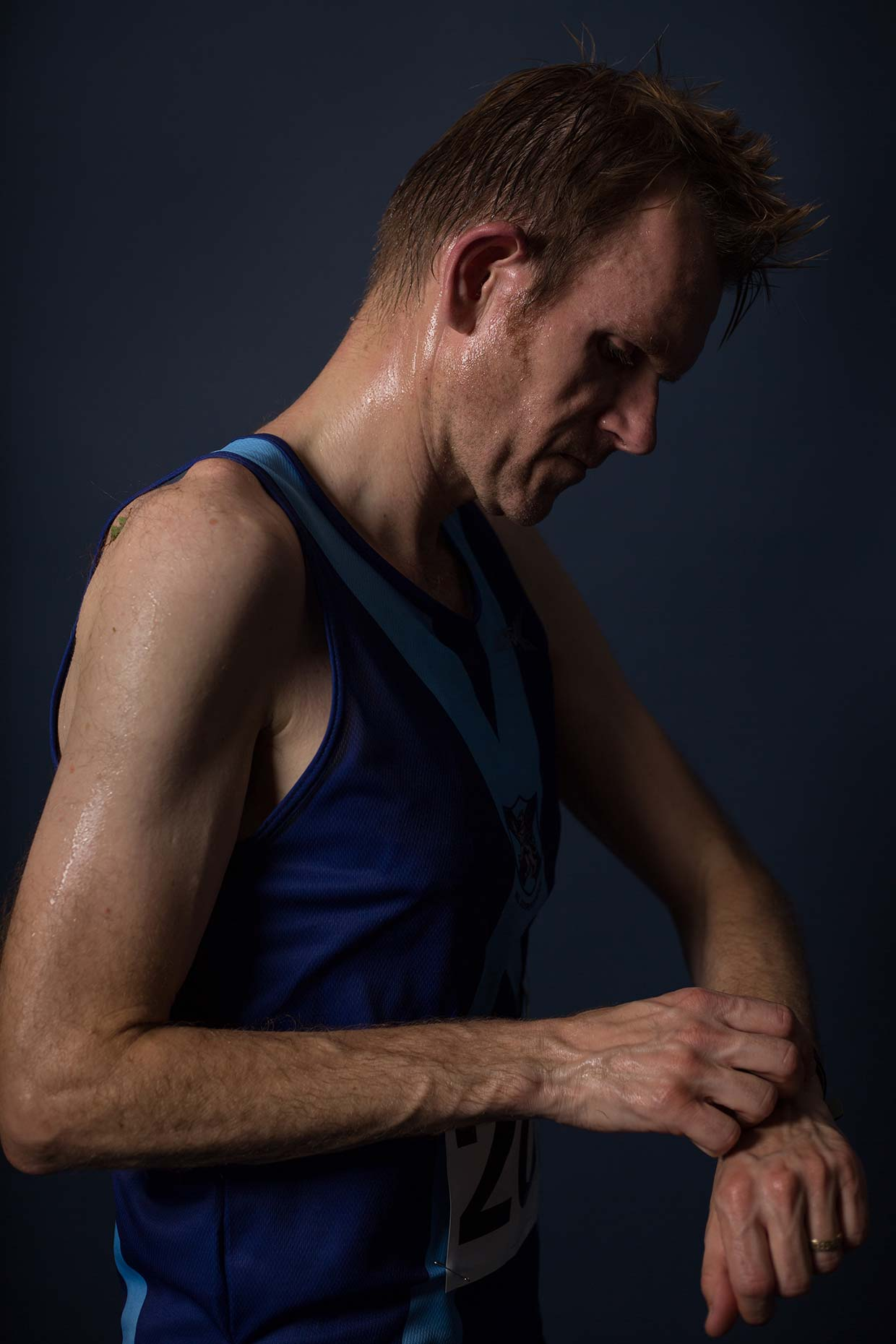 Bellahouston Harriers running club portraiture, by Scotland photographer