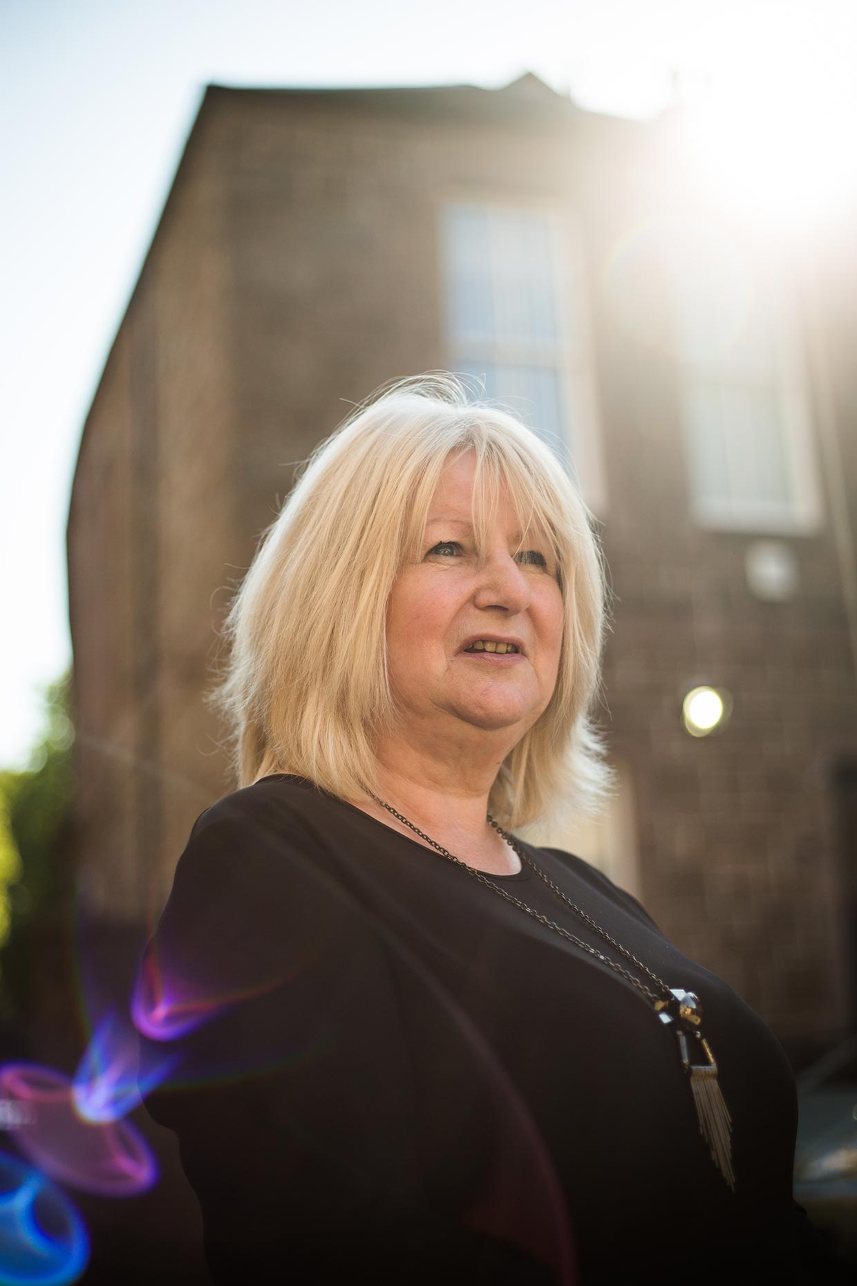 June Black, Dundee -  portrait photographer Scotland