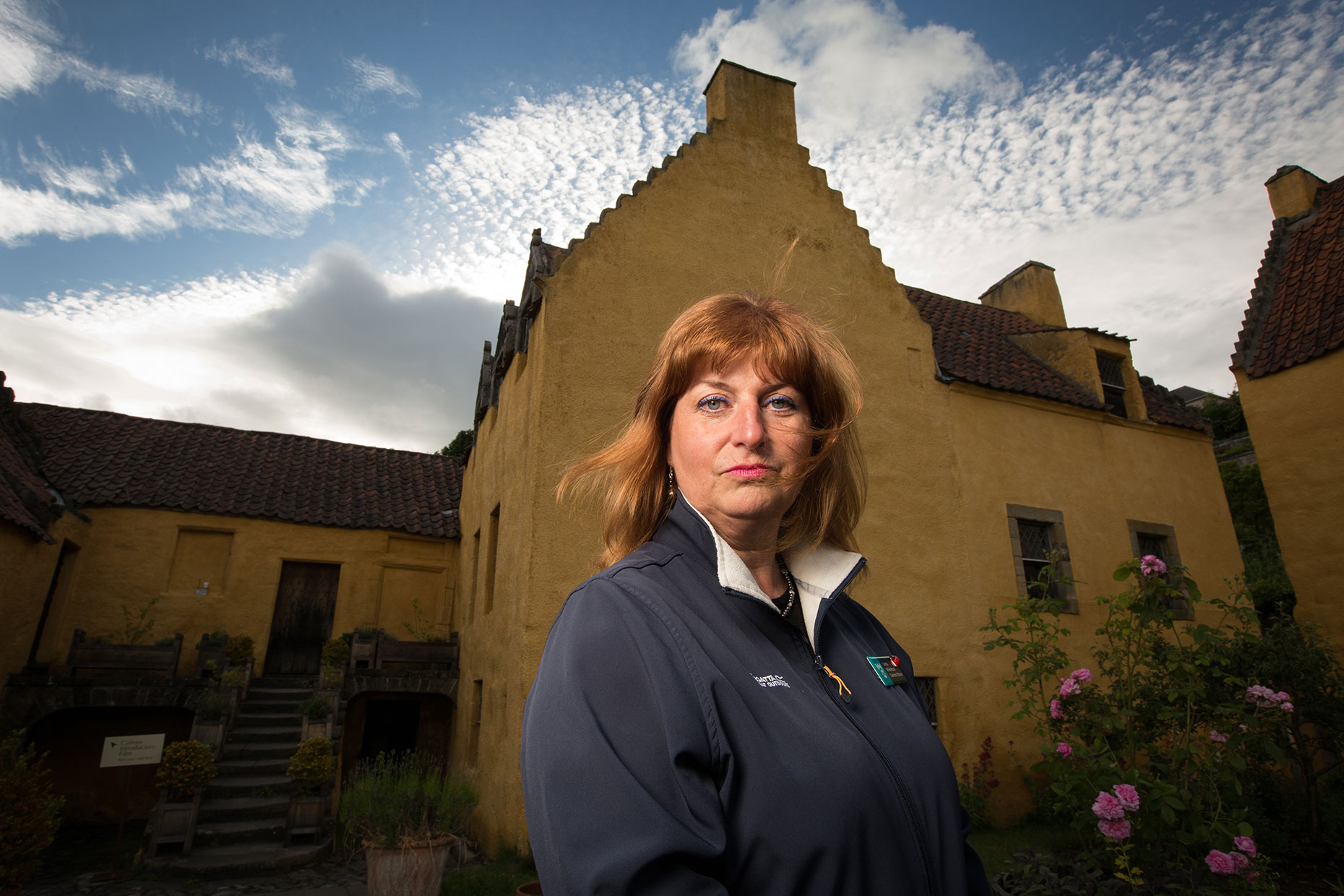 Ghost hunter, National Trust for Scotland -  portrait photographer
