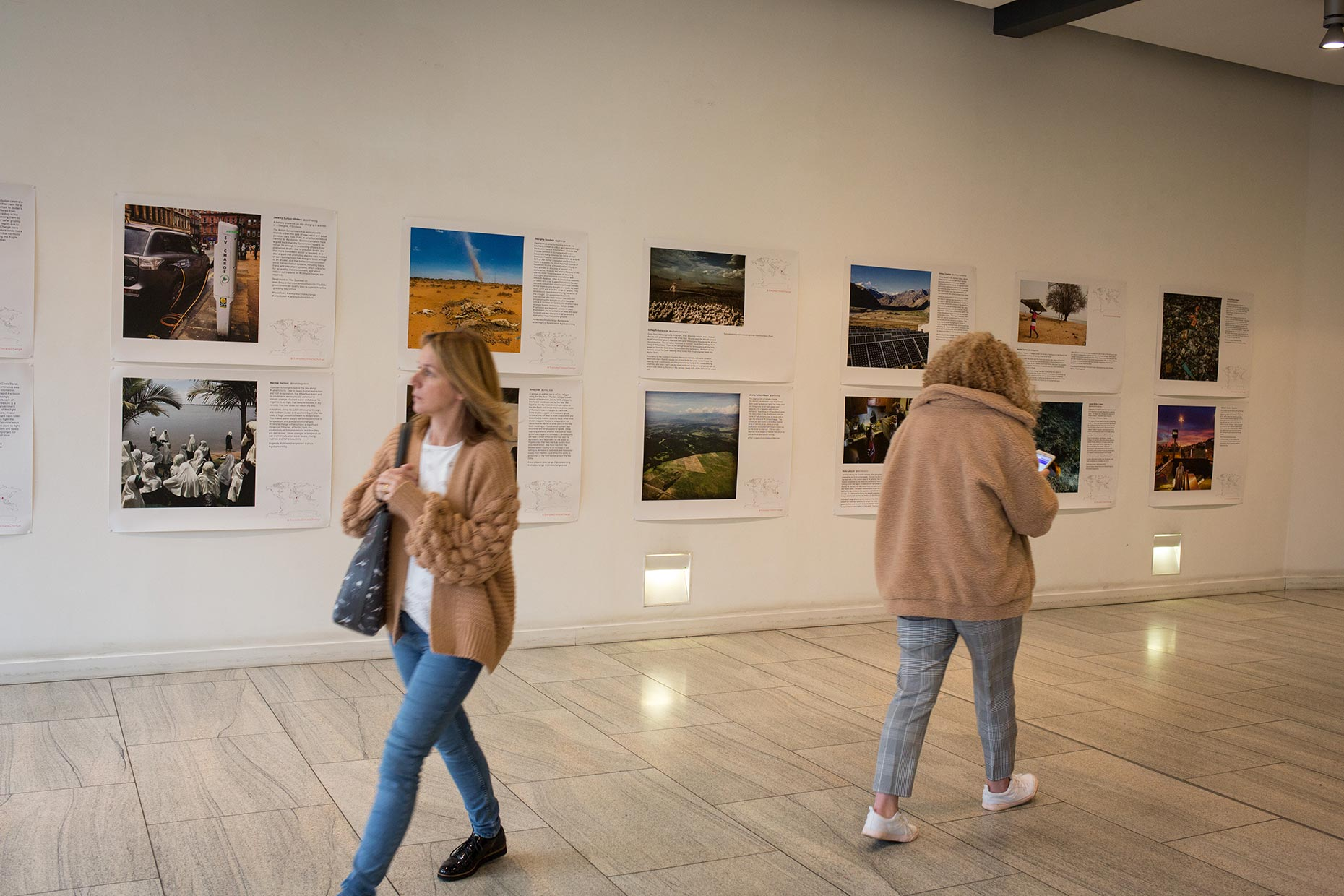 Everyday Climate Change photography exhibition, Glasgow, Scotland