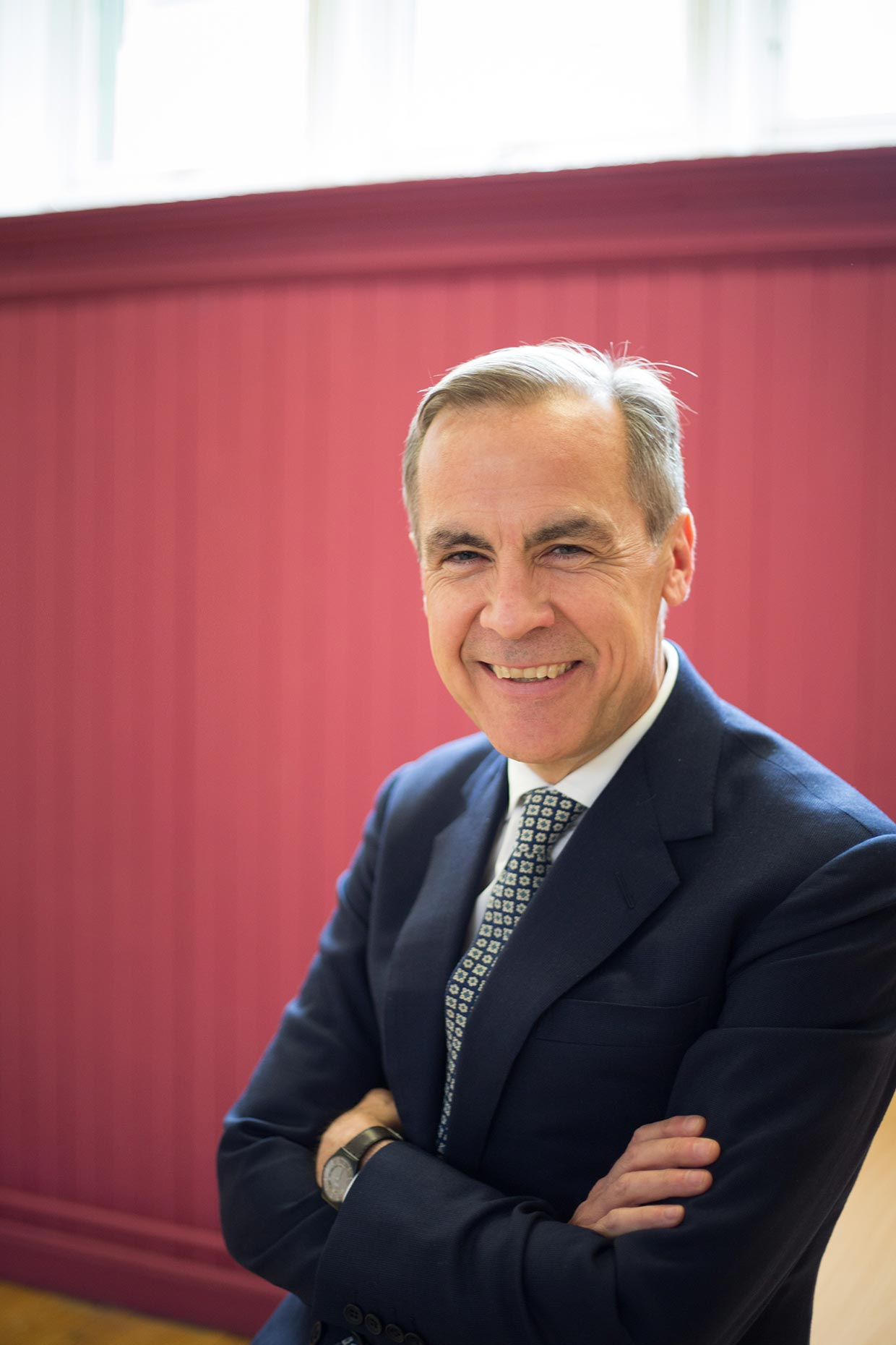 Portrait of Mark Carney, former Governor of the Bank of England