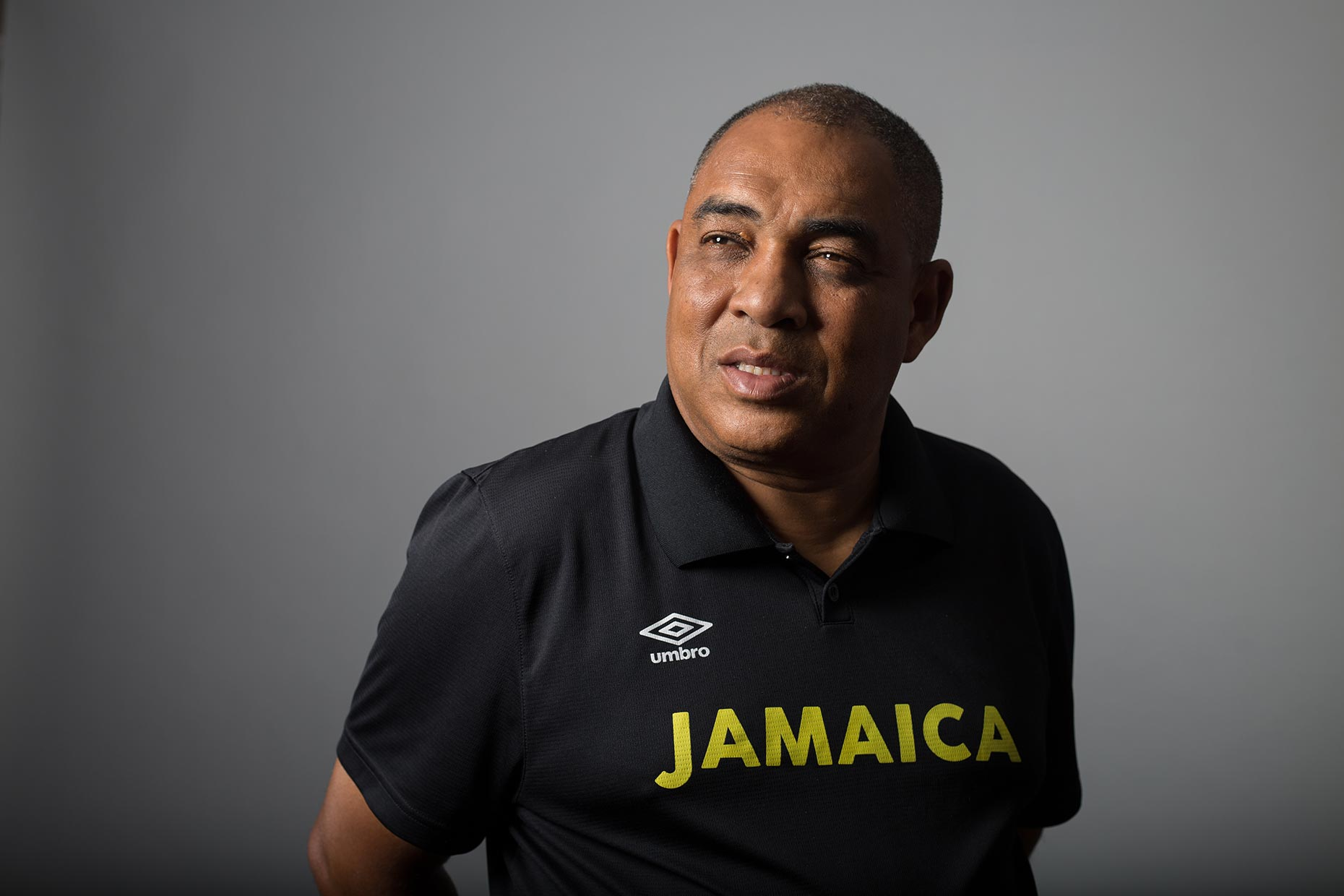 Hue Menzies, coach of the Jamaica Women