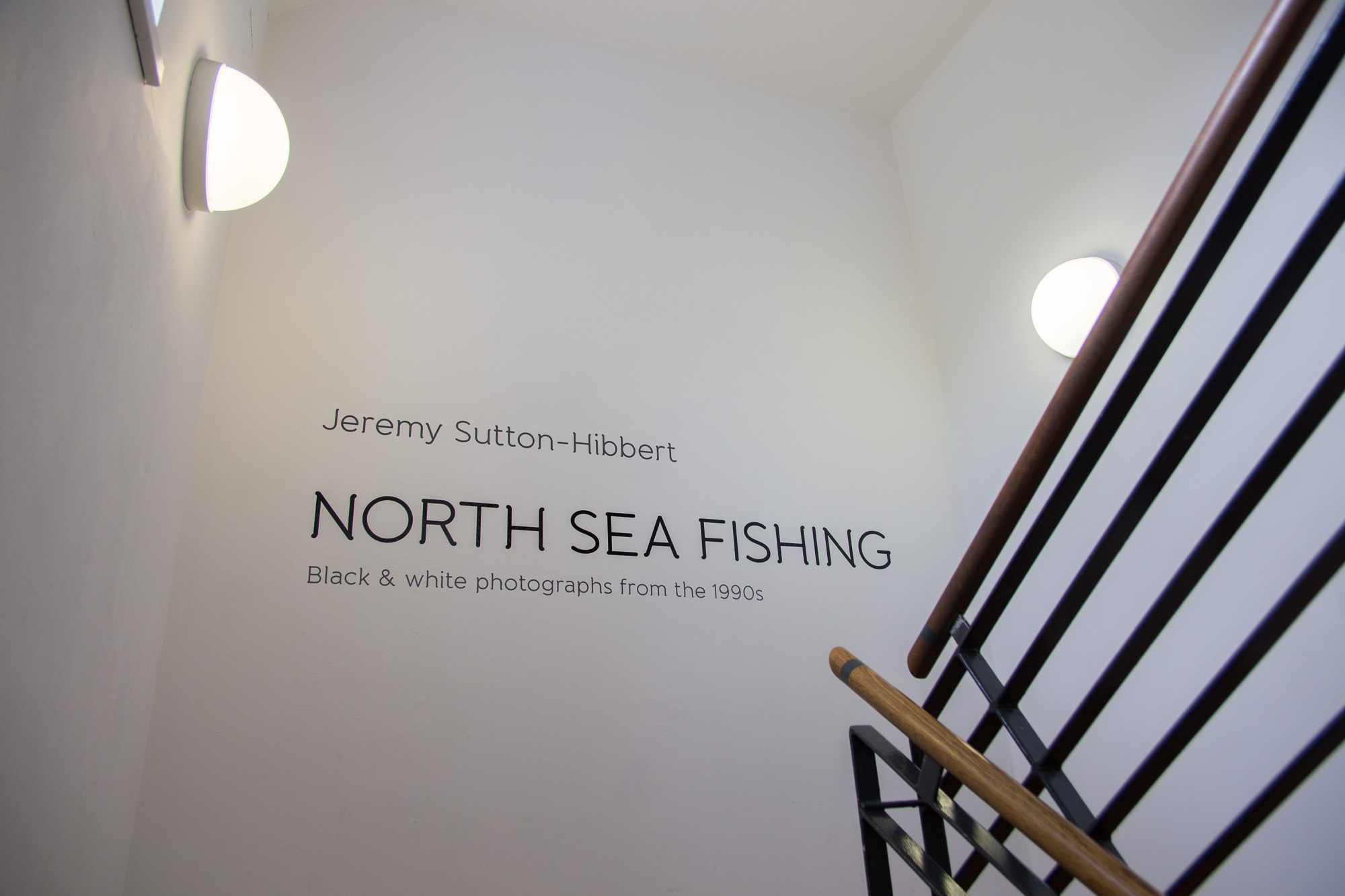North Sea Fishing photography exhibition, Shetland.