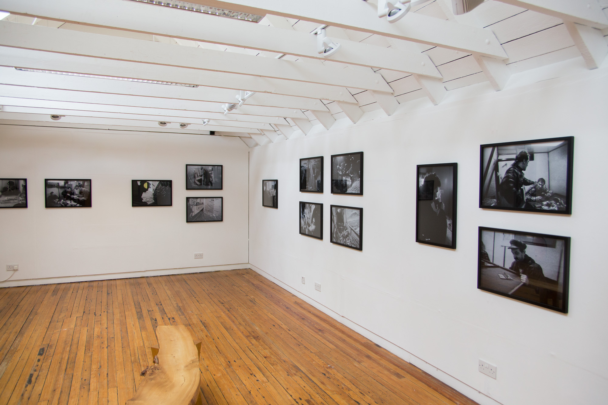 North Sea Fishing photography exhibition, Bonhoga Gallery, Shetland