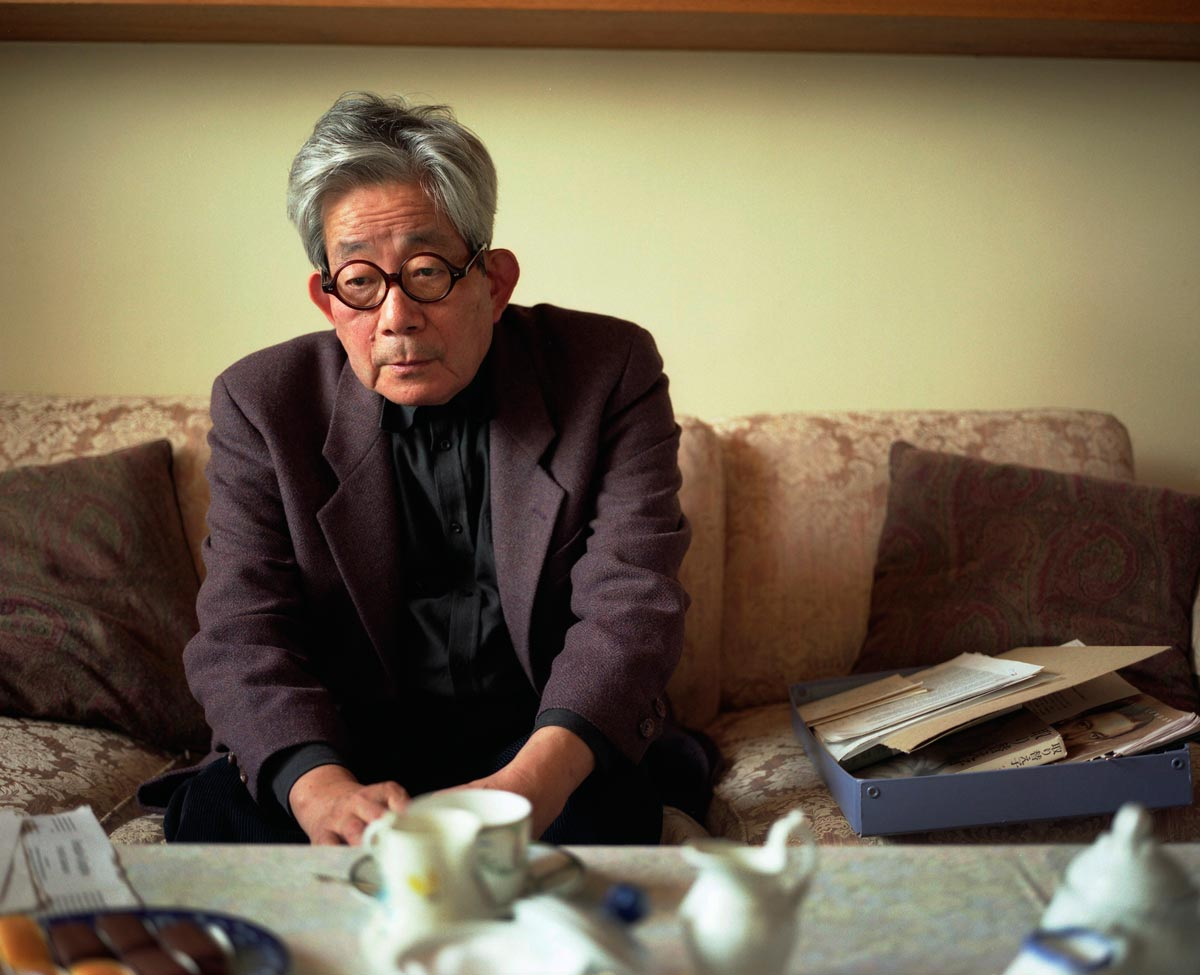 Kenzaburo Oe, Japanese author - Scotland portrait photographer