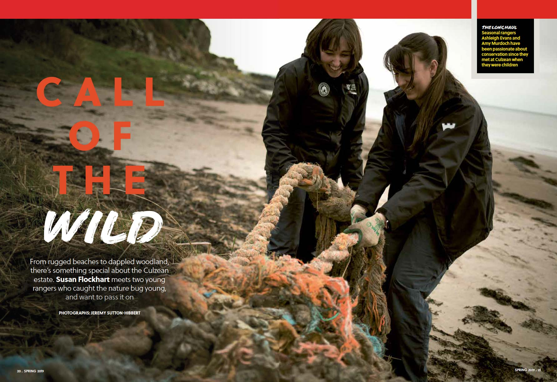 National Trust for Scotland rangers, NTS Magazine, Scotland