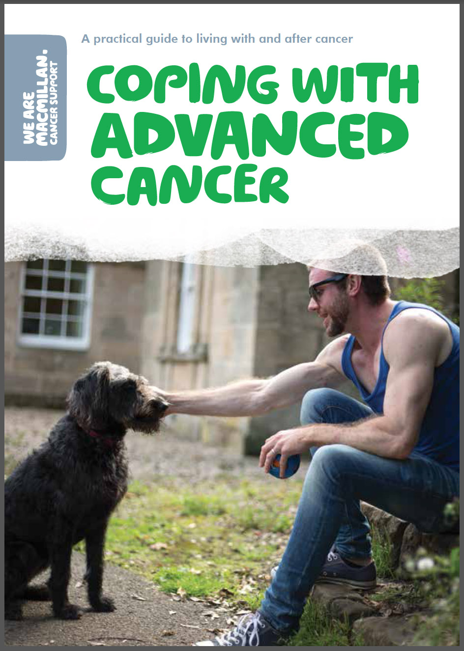 Campaign brochure for Macmillan Cancer Support